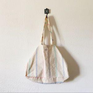 Sezane x Tensira Pastel Tote Bag